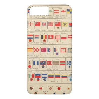 Flags, Badges iPhone 7 Plus Case