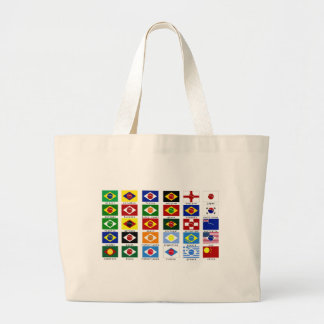 flags for the world cup in Brazil Bags