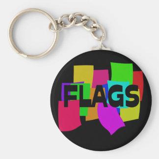 Flags Keychain
