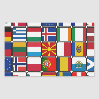 Flags of Flags Stickers
