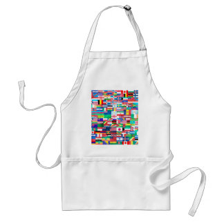 Flags of the World Apron