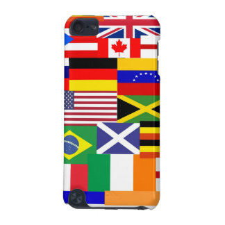 Flags of the world collage iPod touch 5G case