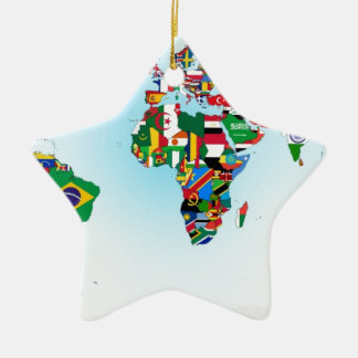 FLAGS OF THE WORLD CHRISTMAS TREE ORNAMENTS