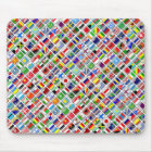 Flags of the World, Diagonal Style Mouse Mat