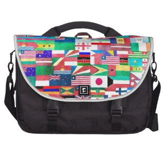 Flags of the World Laptop Computer Bag