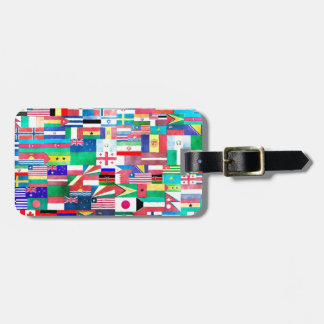 Flags of the World Tags For Luggage