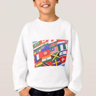 Flags of the world sweatshirt