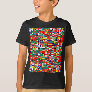 FLAGS OF THE WORLD T SHIRTS