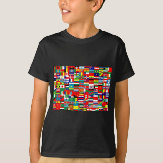FLAGS OF THE WORLD TSHIRT