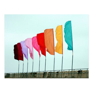 Flags Postcard