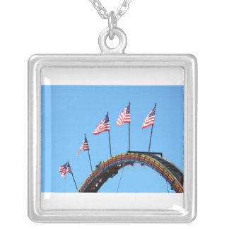 Flags Up High Custom Necklace