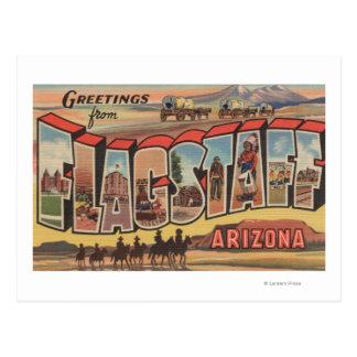 Flagstaff Arizona - Large Letter Scenes Post Cards