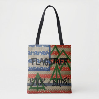 Flagstaff Back The Blue Bag