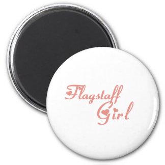 Flagstaff Girl tee shirts 6 Cm Round Magnet