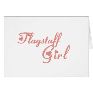 Flagstaff Girl tee shirts Greeting Card