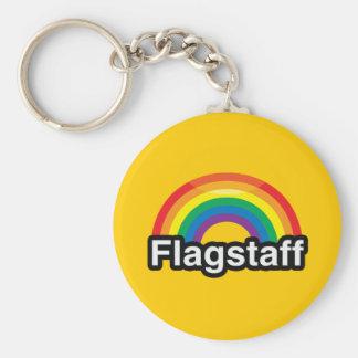 FLAGSTAFF LGBT PRIDE RAINBOW KEYCHAINS