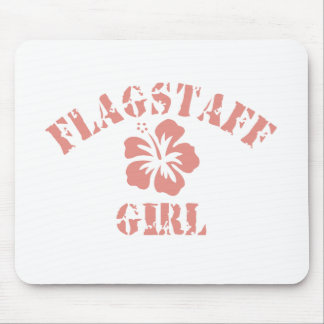 Flagstaff Pink Girl Mouse Pad