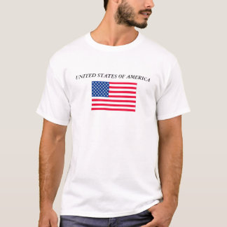 flagus, UNITED STATES OF AMERICA T-Shirt