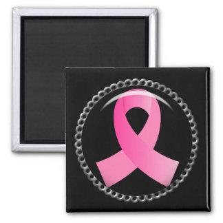 Flair Breast Cancer Pink Ribbon Fridge Magnet