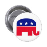 Flair Pin : Republican Elephant