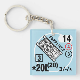 FlaKPz IV/20 Keychain Fob