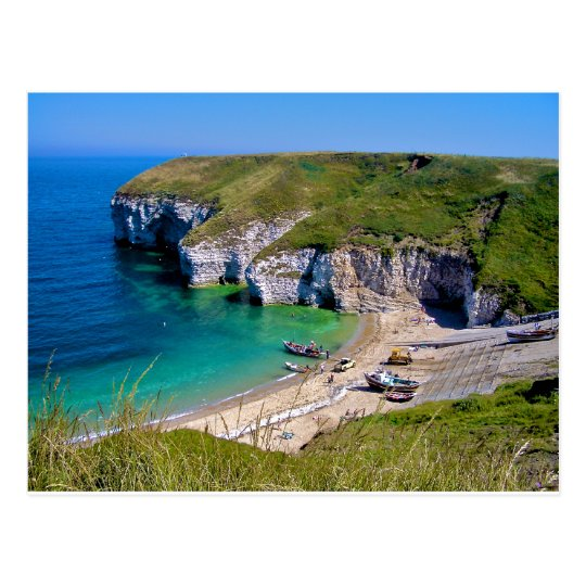 Flamborough, North Landing Postcard