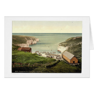 Flamborough, North Sea landing, Yorkshire, England Cards