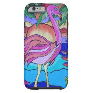 Flamboyant Flamingo Tough iPhone 6 Case