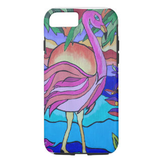 Flamboyant Flamingo Tough iPhone 7 Case