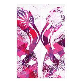 Flamboyant Flamingos Stationery