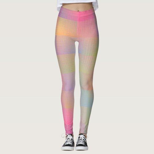 Flamboyant neon colours leggings