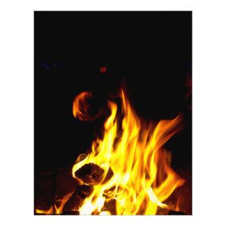 Flame 21.5 Cm X 28 Cm Flyer