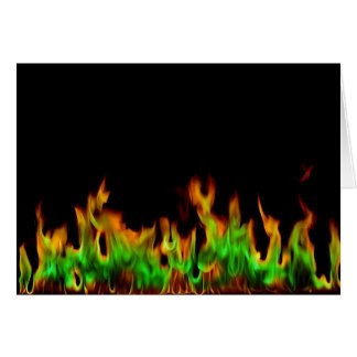 Flame Card