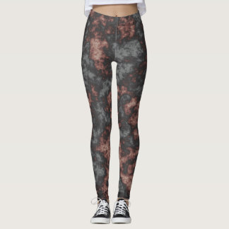 Flame chaos leggings