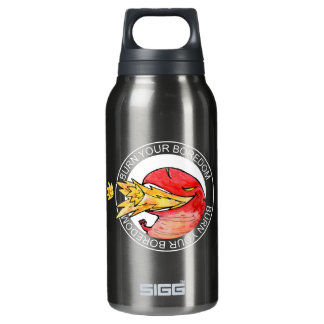 Flame Dragon loves to read Thermo (0.3L) Insulated Water Bottle