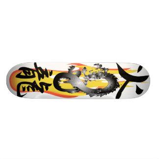 Flame Fire Dragon 3D mix Skateboards