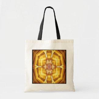 Flame Flower Kaleido-Tote Tote Bag