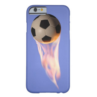 Flame Football Barely There iPhone 6 Case