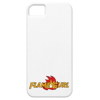 Flame Gurl Logo iPhone 5 Cover