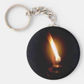 flame key chain
