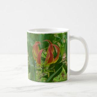 Flame Lily Coffee Mug