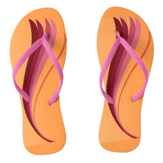 Flame Lily Flip Flops