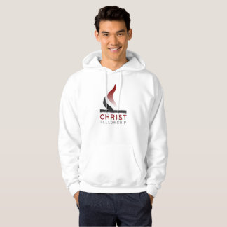 Flame logo hoodie