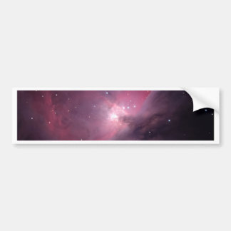 Flame Nebula Bumper Sticker