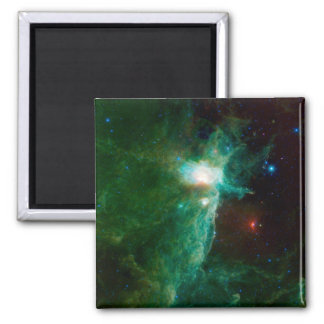 Flame Nebula NASA Square Magnet