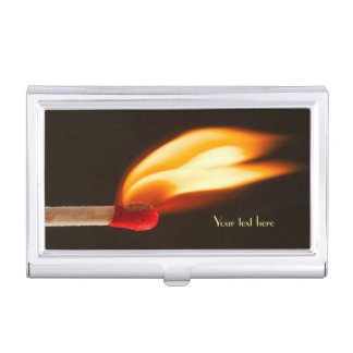 Flame of Fire Business Card Cases