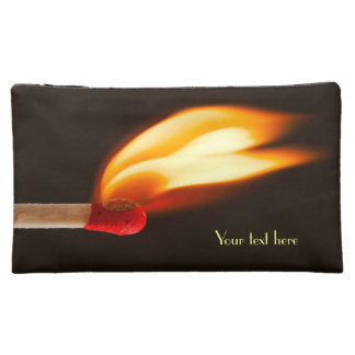 Flame of Fire Cosmetic Bags