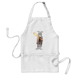 FLAME ON! Switch On Fire! Adult Apron