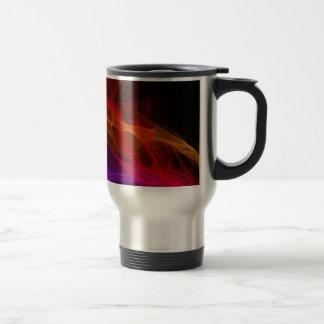 Flame Ribbons Coffee Mug