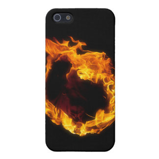 Flame Ring 01 iPhone 5 Cover